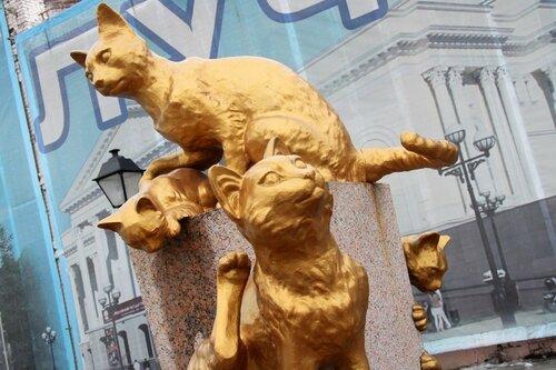ВЯлте появится туристический маршрут «Аллея котов»