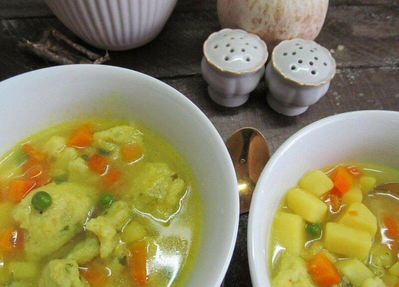 Клецки из овощей по сербски
