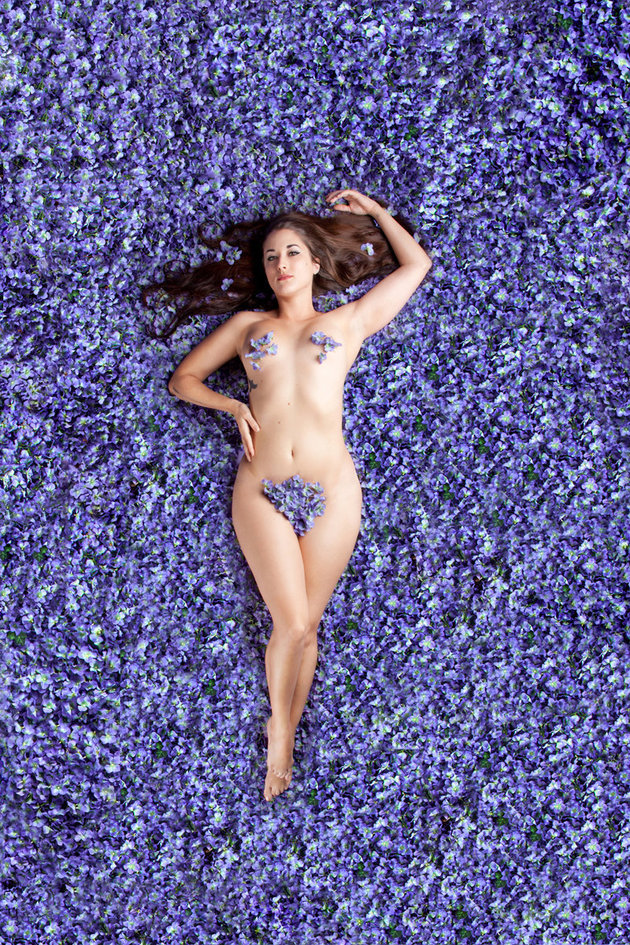 5. Также этим проектом фотограф хотела показать, что женская красота разнообразна и выходит за рамки