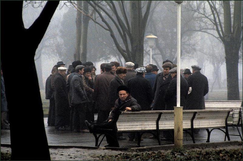 В парке Шевченко.