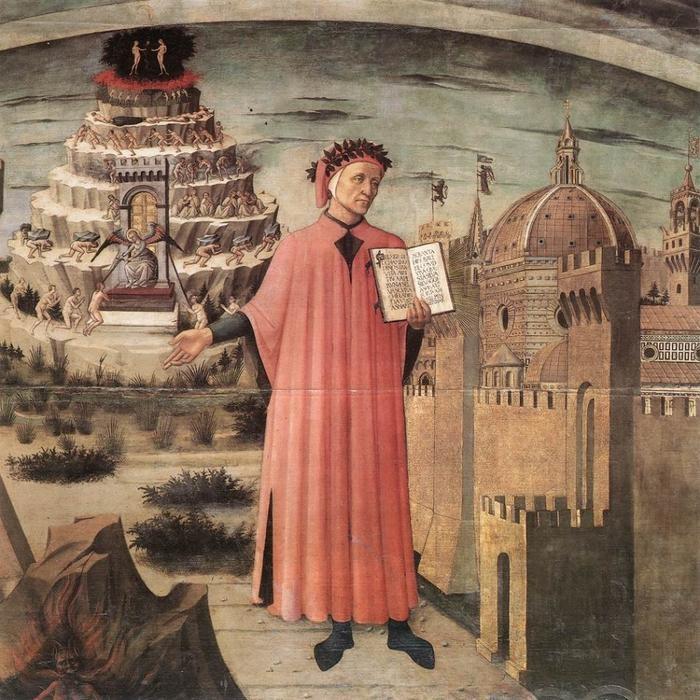 7. Сторонники Папы так и не смогли простить Данте его антиклерикальных заявлений, и уже после смерти