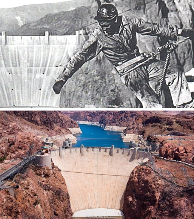 © usbr  Одним изпервых людей, жизнь которого унесло строительство плотины, был Джордж Тирни,