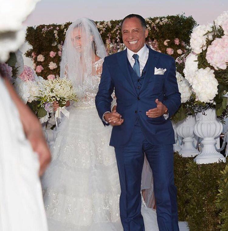 Бракосочетание пары, которая начала встречаться с конца 2015 года, стоило более 1 млн. евро. Свадьбу