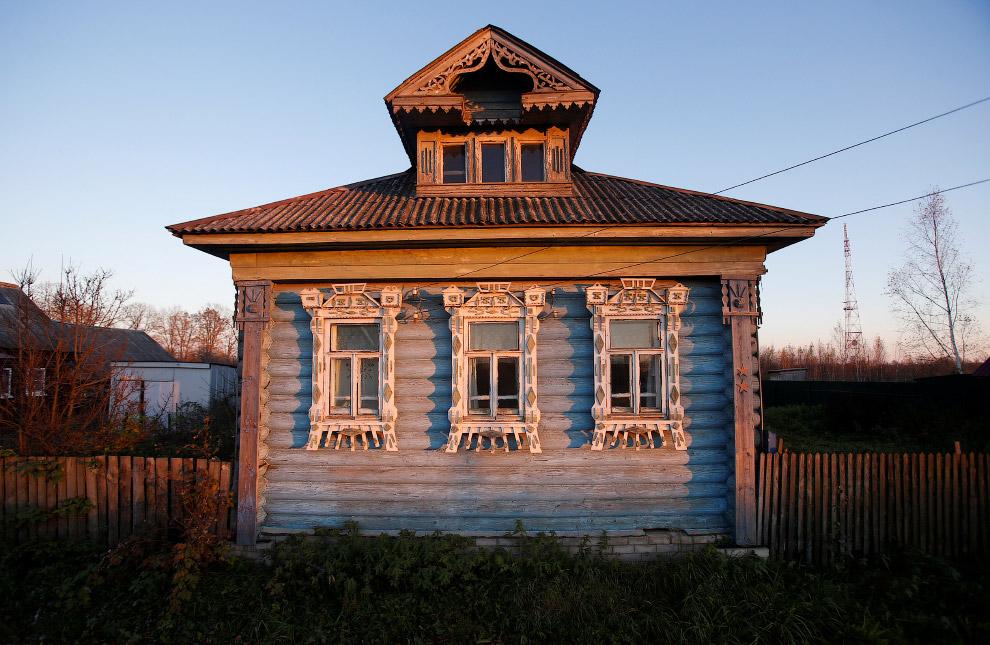 6. Село Деболовское, Ярославская область, 24 октября 2016. (Фото Maxim Shemetov | Reuters):