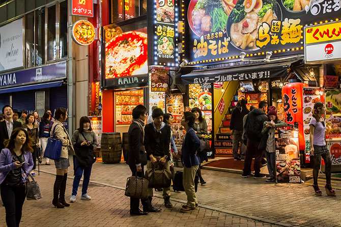На следующий день вернулись на Роппонги чтобы посмотреть на Токио с обзорной площадки.Фотографи