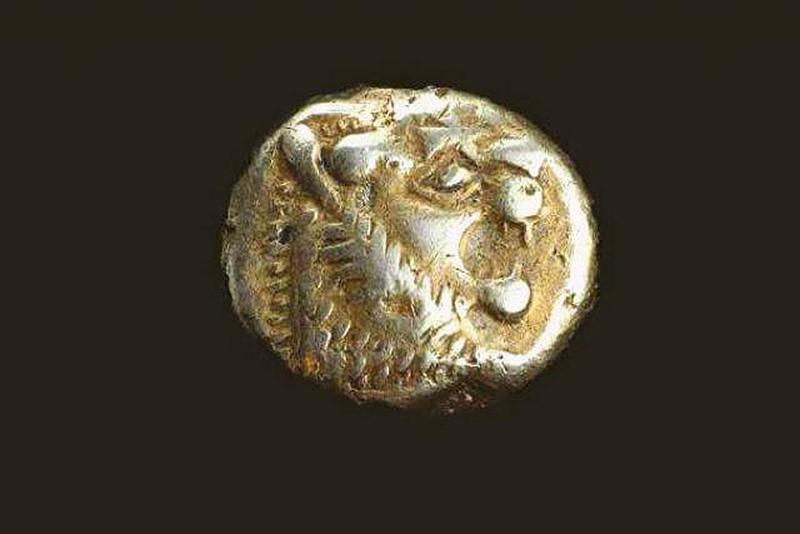 15. Самая старая монета (2700 лет). Старейшая монета была найдена в древнегреческом городе Эфес, что