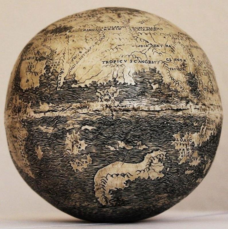 16. Самый старый глобус (510 лет).