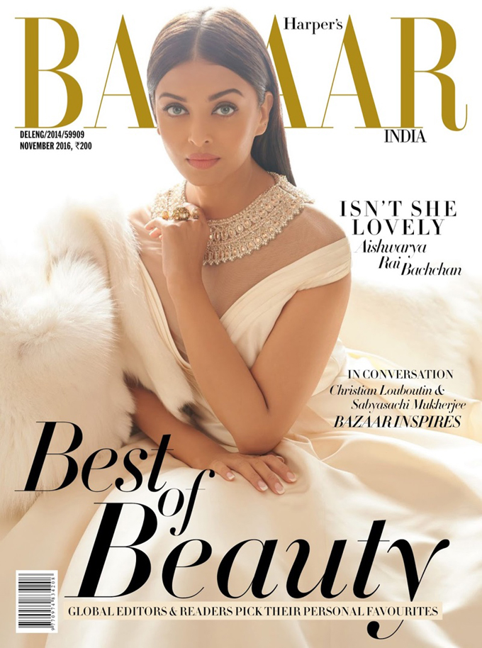 Айшвария Рай Баччан в Harper's Bazaar India