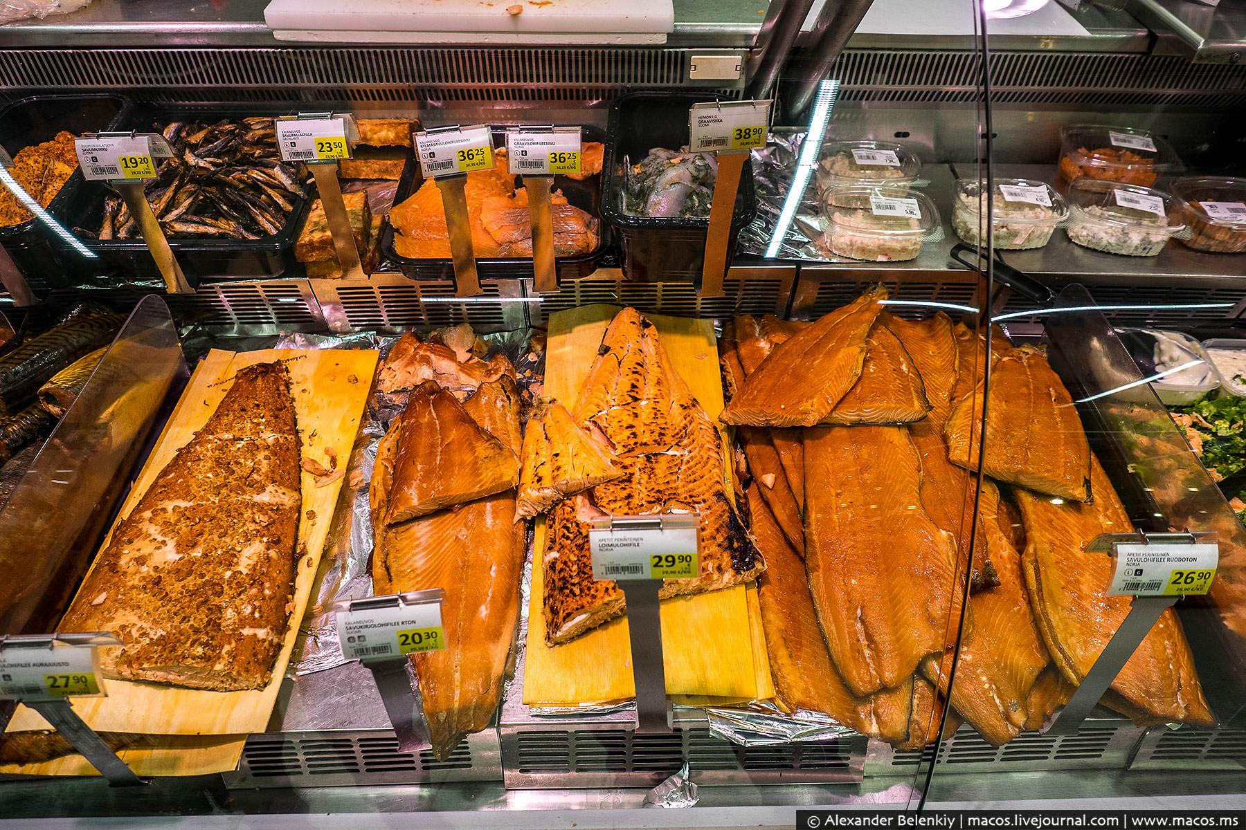 Финляндия — страна лосося. Свежего, соленого, копченого… очень вкусного лосося.