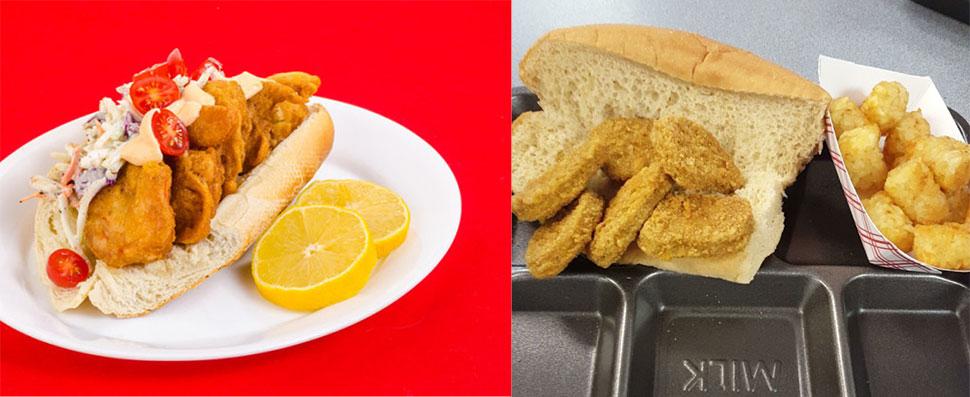 Креольский сэндвич «по-бой» с креветками На самом деле это блюдо — американское по происхождению и п