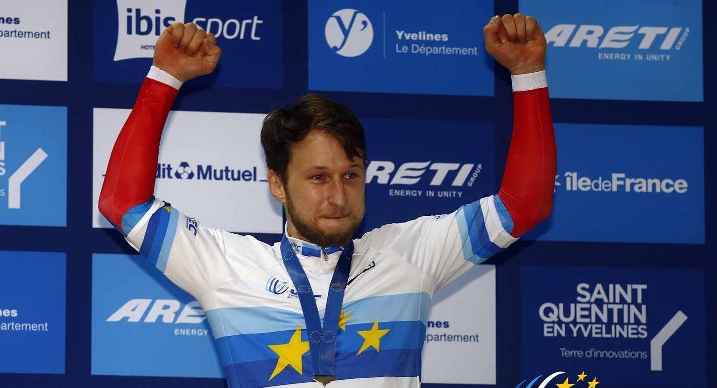 Украинцы взяли две медали наКубке мира повелотреку