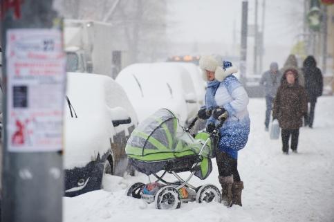 МЧС предупреждает: НаНижегородскую область снова идут снегопады