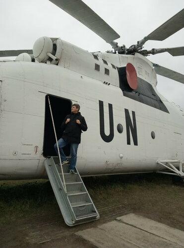Тяжелый транспортный вертолет Ми-28   Киевский государственный музей авиации