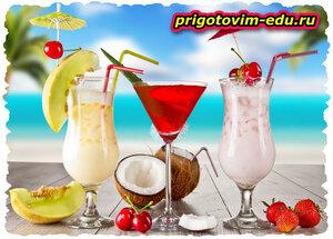 Алкогольный коктейль «Экзотика» с абсентом