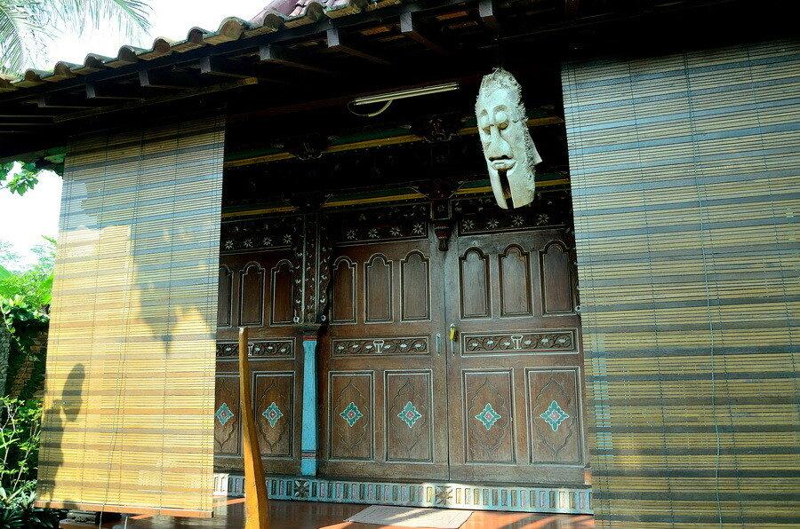 Традиционный яванский домик