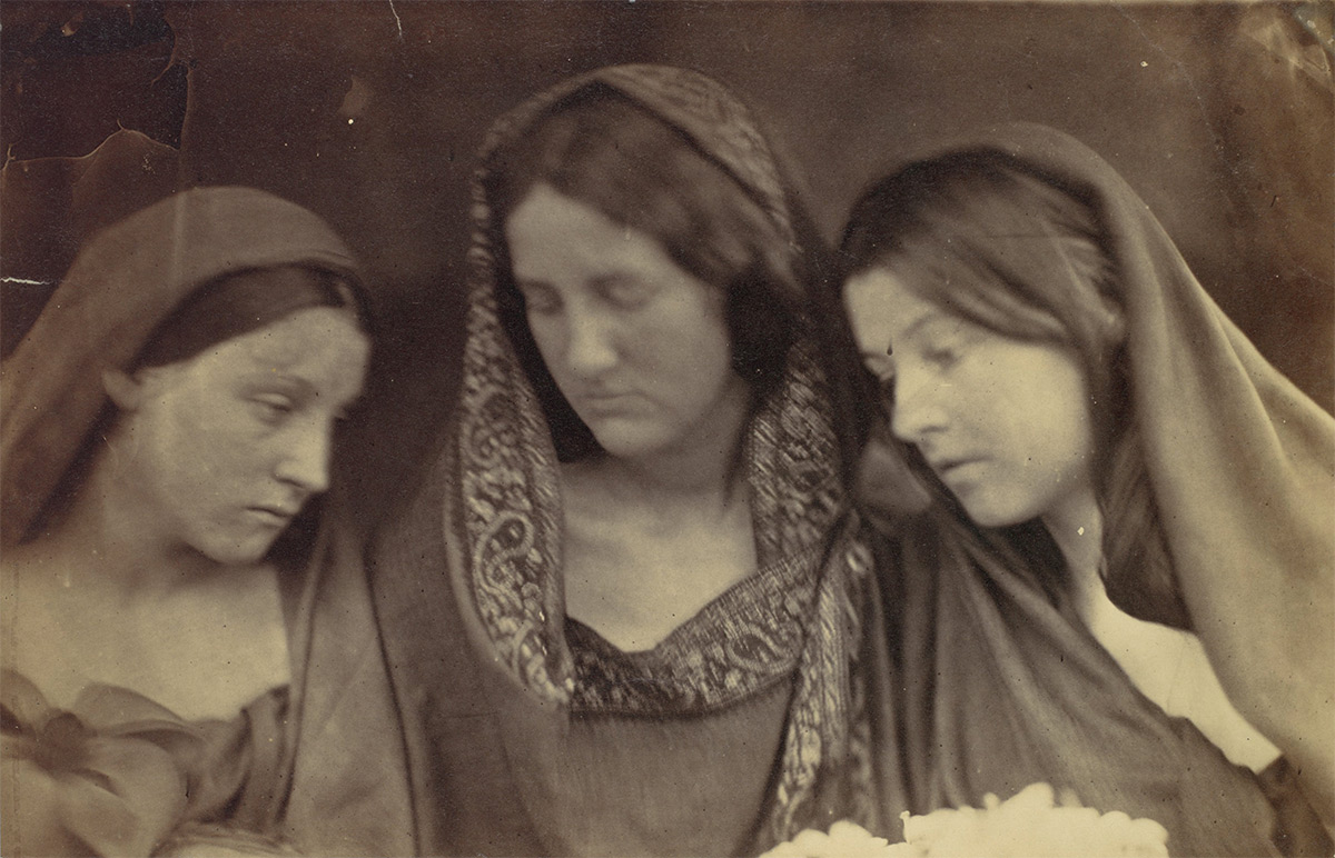 Daughters of Jerusalem / Julia Margaret Camero / 1865