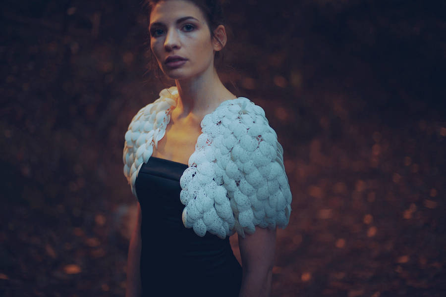 3D Printed & Customizable Plumage Cape