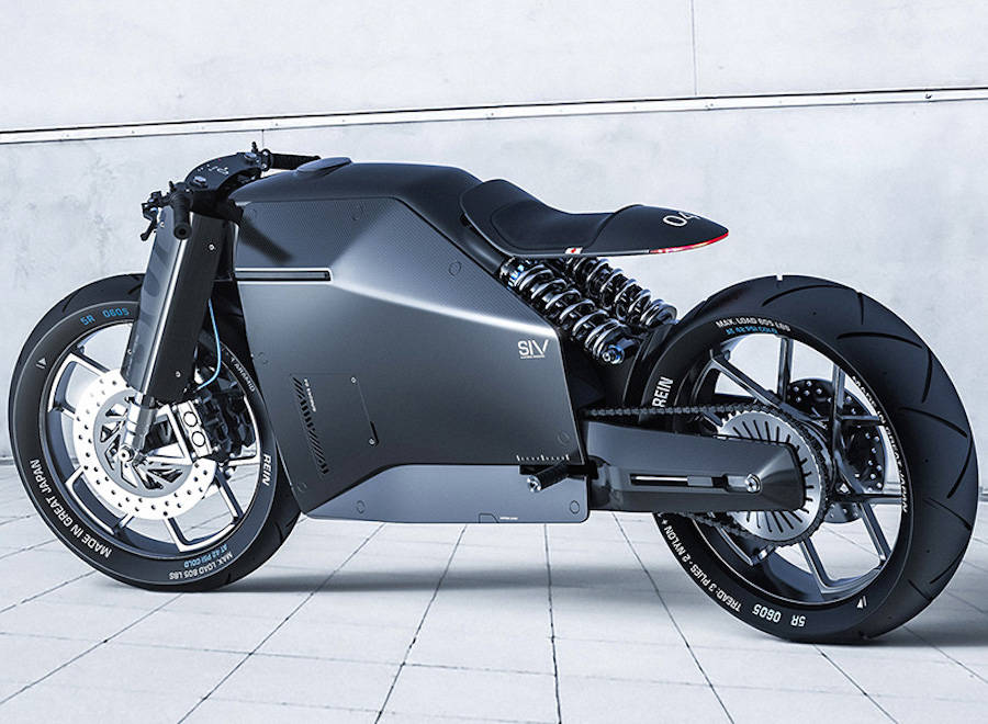 Samourai Inspired Futuristic Motorbike (15 pics)