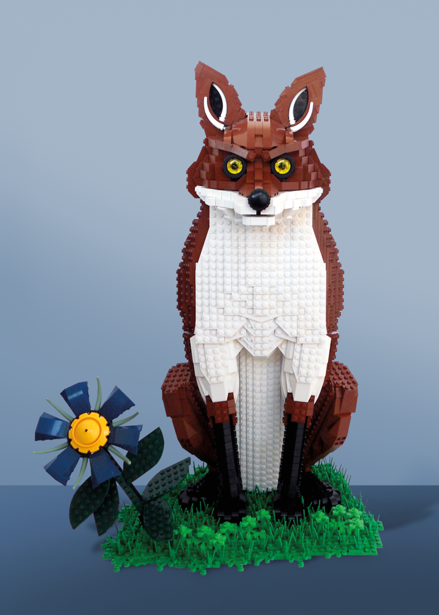 Wildlife LEGO Sculptures