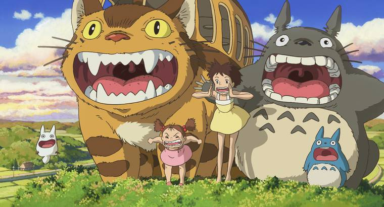 My Neighbor Totoro © 1988 Studio Ghibli
