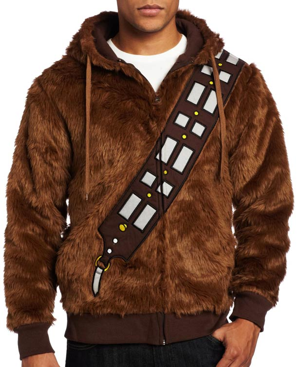 Chewbacca VS. Han Solo - A Star Wars reversible Hoodie!