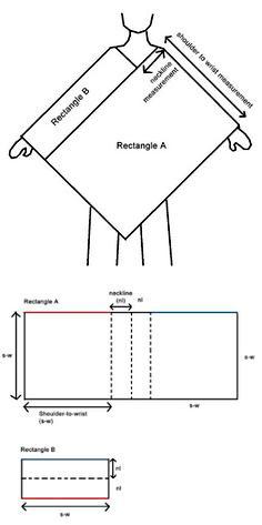 Вязание крючком: пончо
