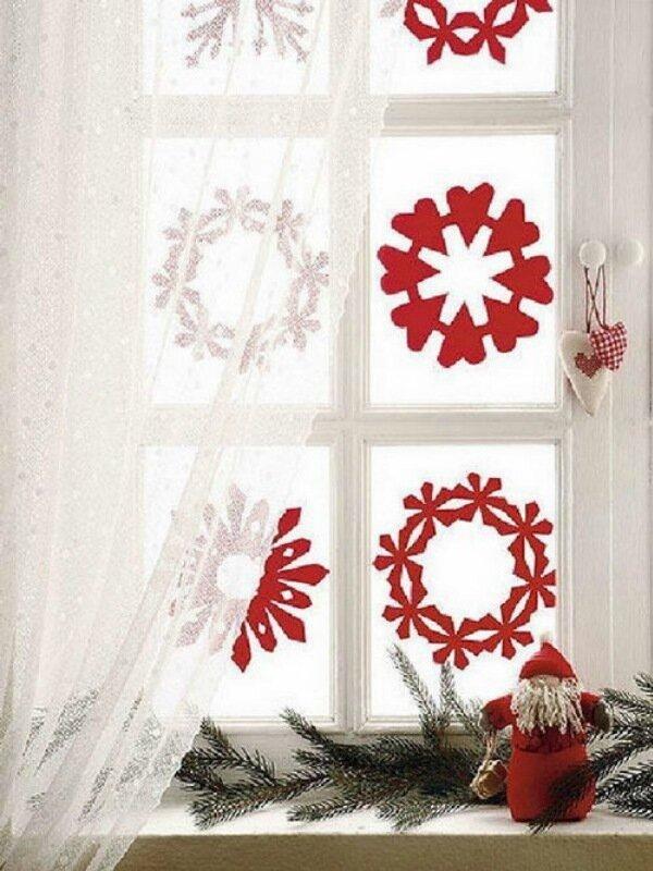 Готовим окна к Рождеству