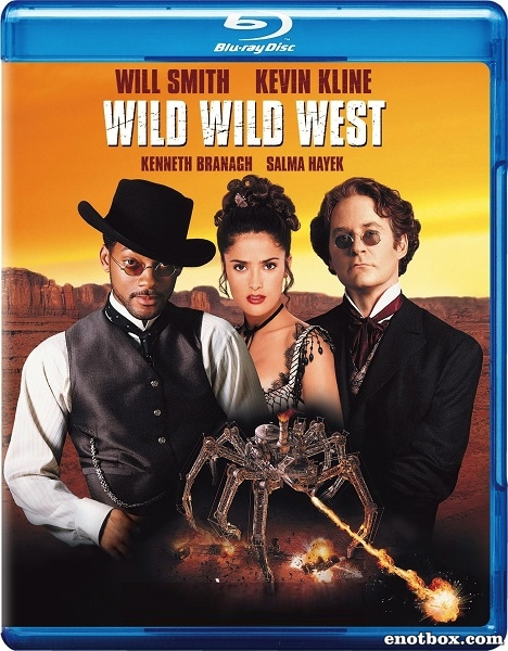Дикий, дикий Запад / Wild Wild West (1999/BDRip/HDRip)