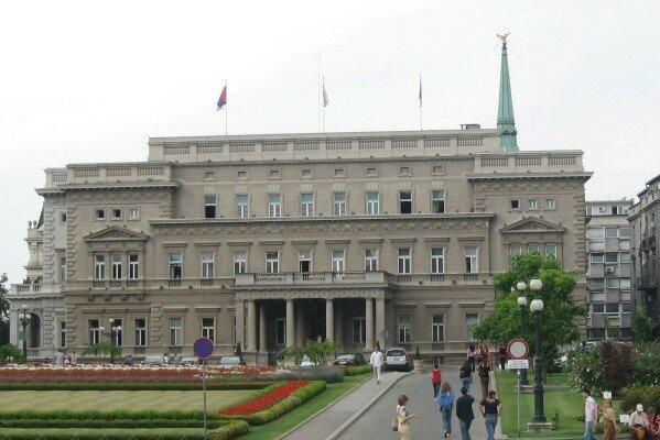 Сербия, Белград, армия, протесты