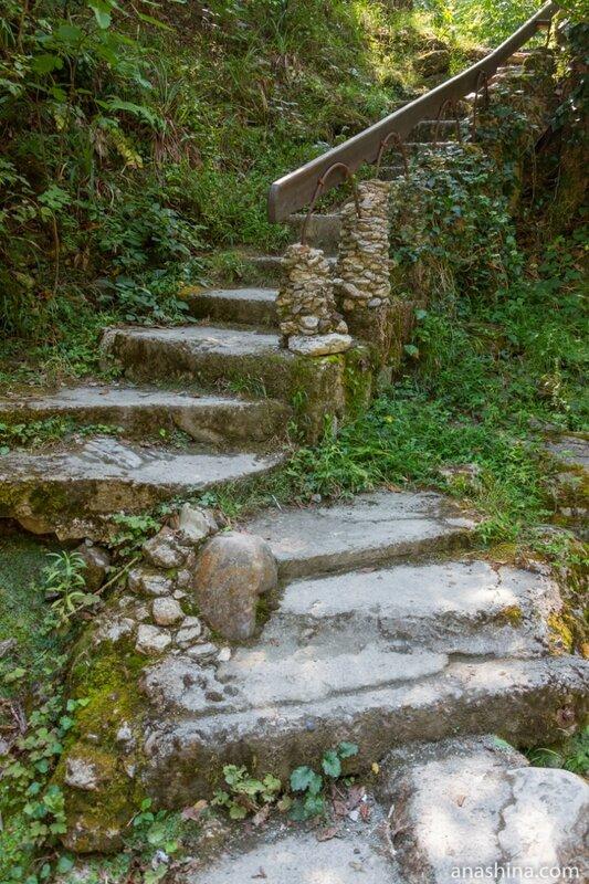 Лестница, Корыта, Дагомыс