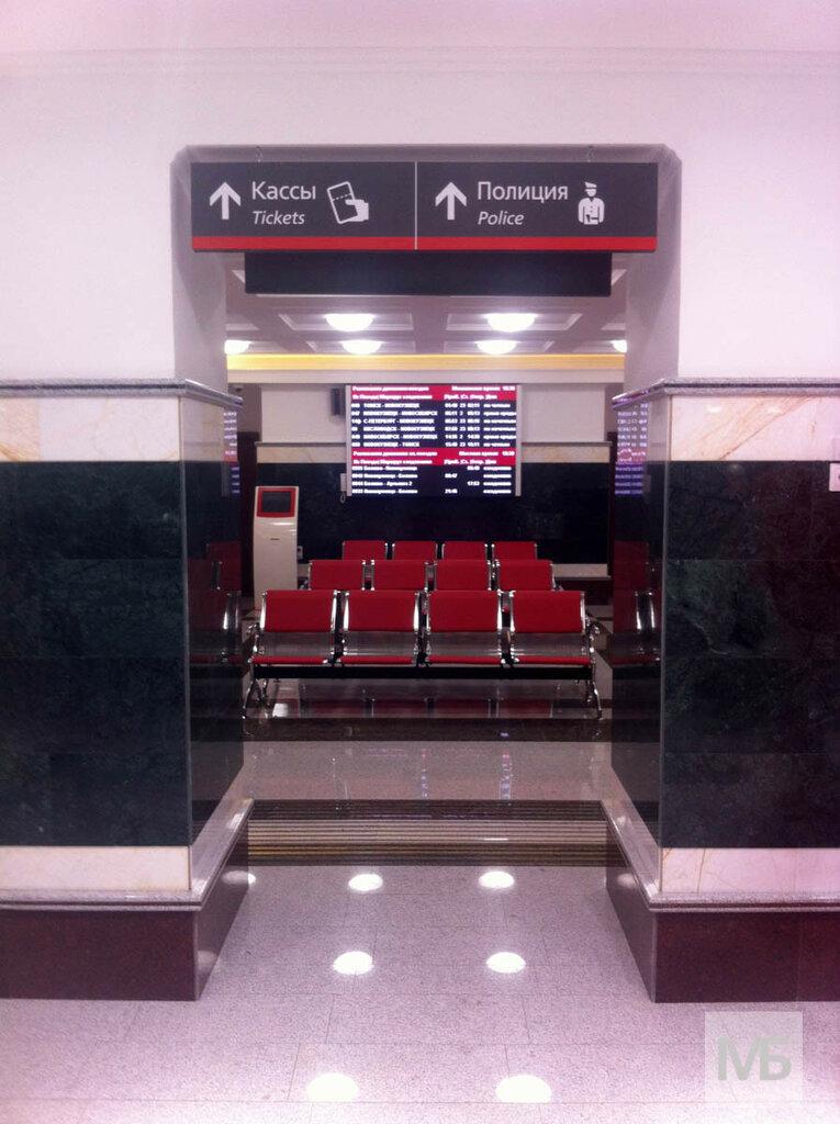 Интерьеры нового ЖД-вокзала в Белово в день открытия