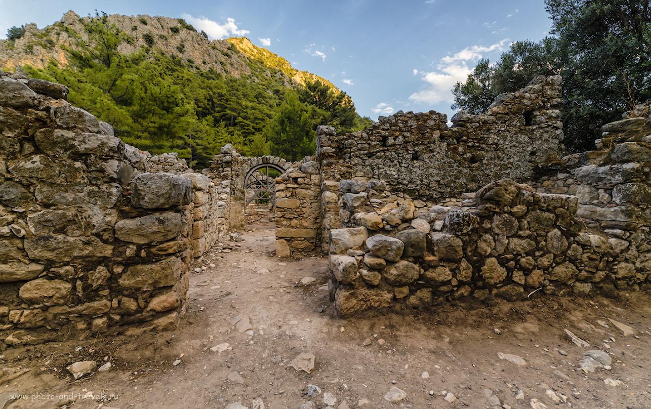 Фото 15. Руины античного города Олимпос в Кемере. Куда поехать на экскурсию во время отдыха. 1/160, -2.0, 8.0, 400, 14.
