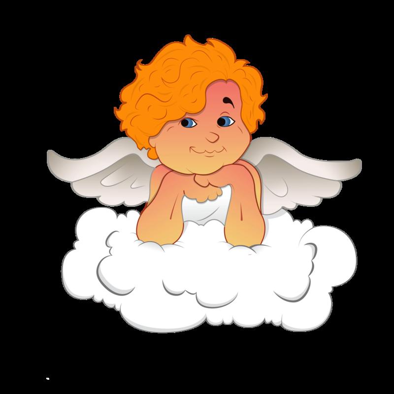 Прикольная картинка ангелочка, картинка днем рождения