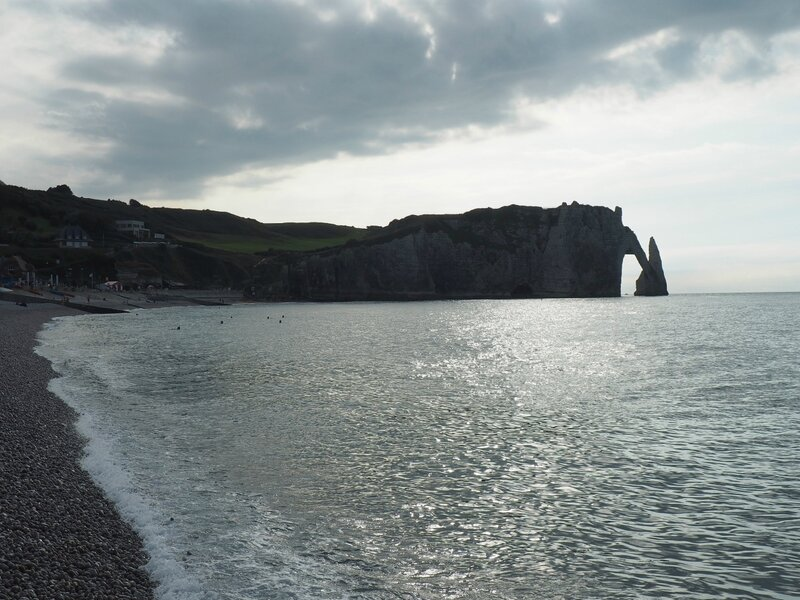 Франция, Этрета – скалы (France, Etretat – rock)