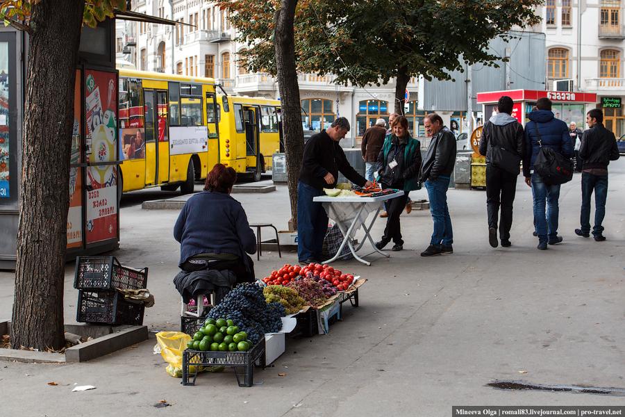Тбилиси. Уличная торговля
