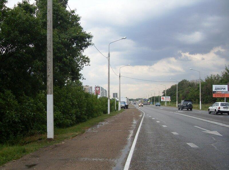 На дороге в центр Краснодара, июль, дождливая погода ...SDC13081.JPG