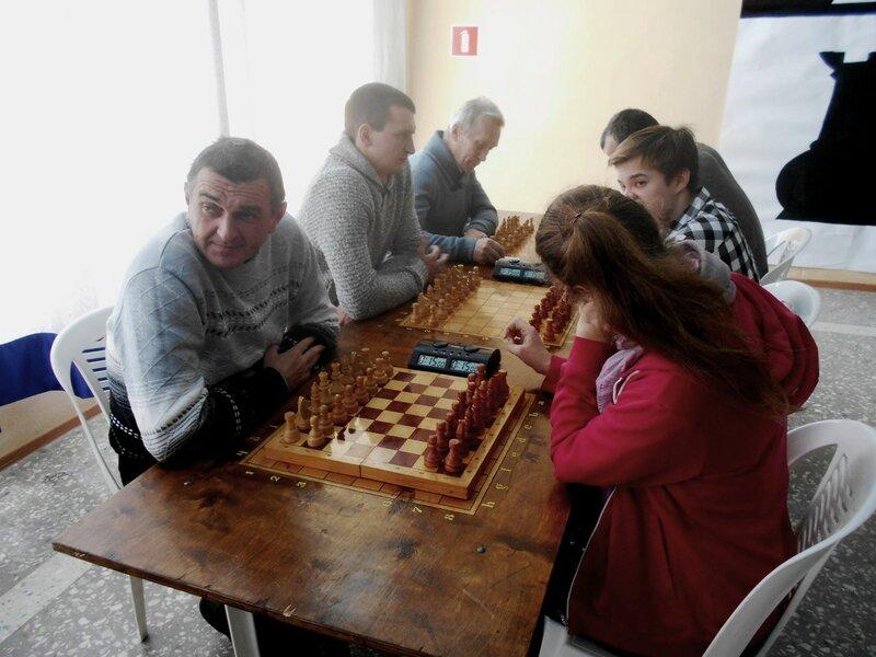 Лидерские места ... Шахматный турнир. Выселки. Декабрь 2016