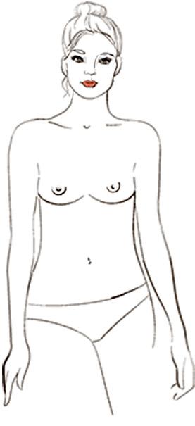 9 типов женской груди - Атлетичные