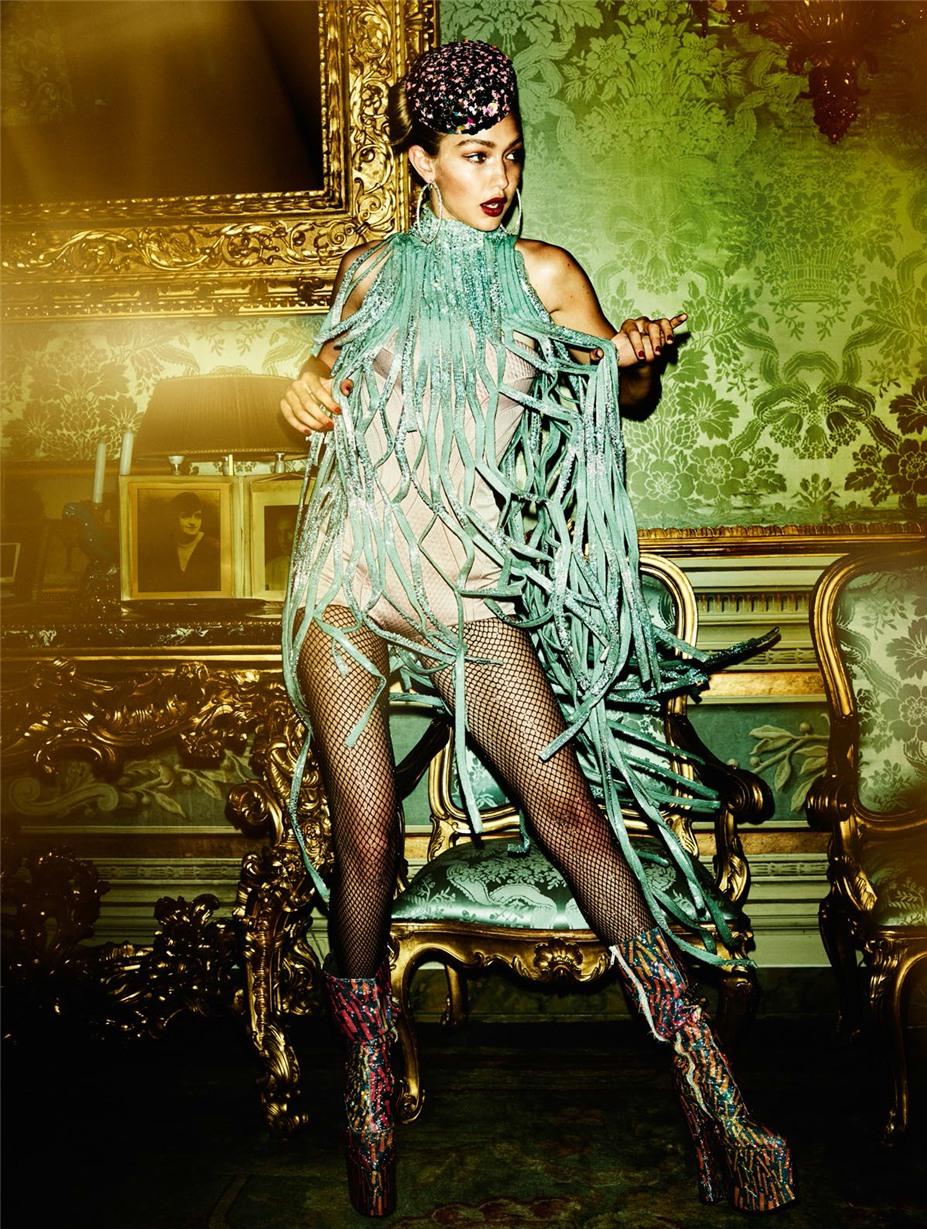 Римские каникулы с Джиджи Хадид / Gigi Hadid by Mario Testino - Vogue Paris november 2016