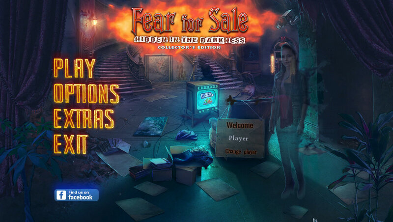Fear For Sale: Hidden in the Darkness CE