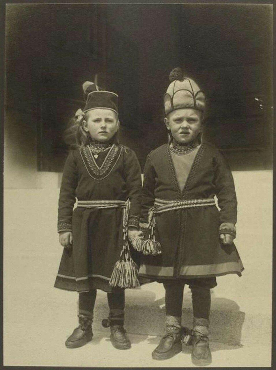 Дети из Лапландии