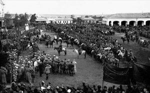 1919. Троицк. Парад полка имени Степана Разина