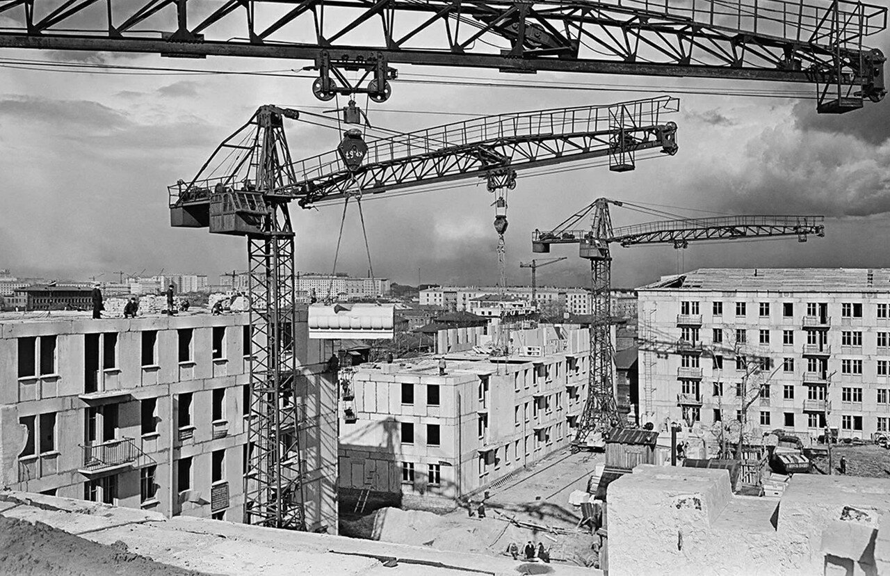 1958. 9-й квартал Марьиной Рощи