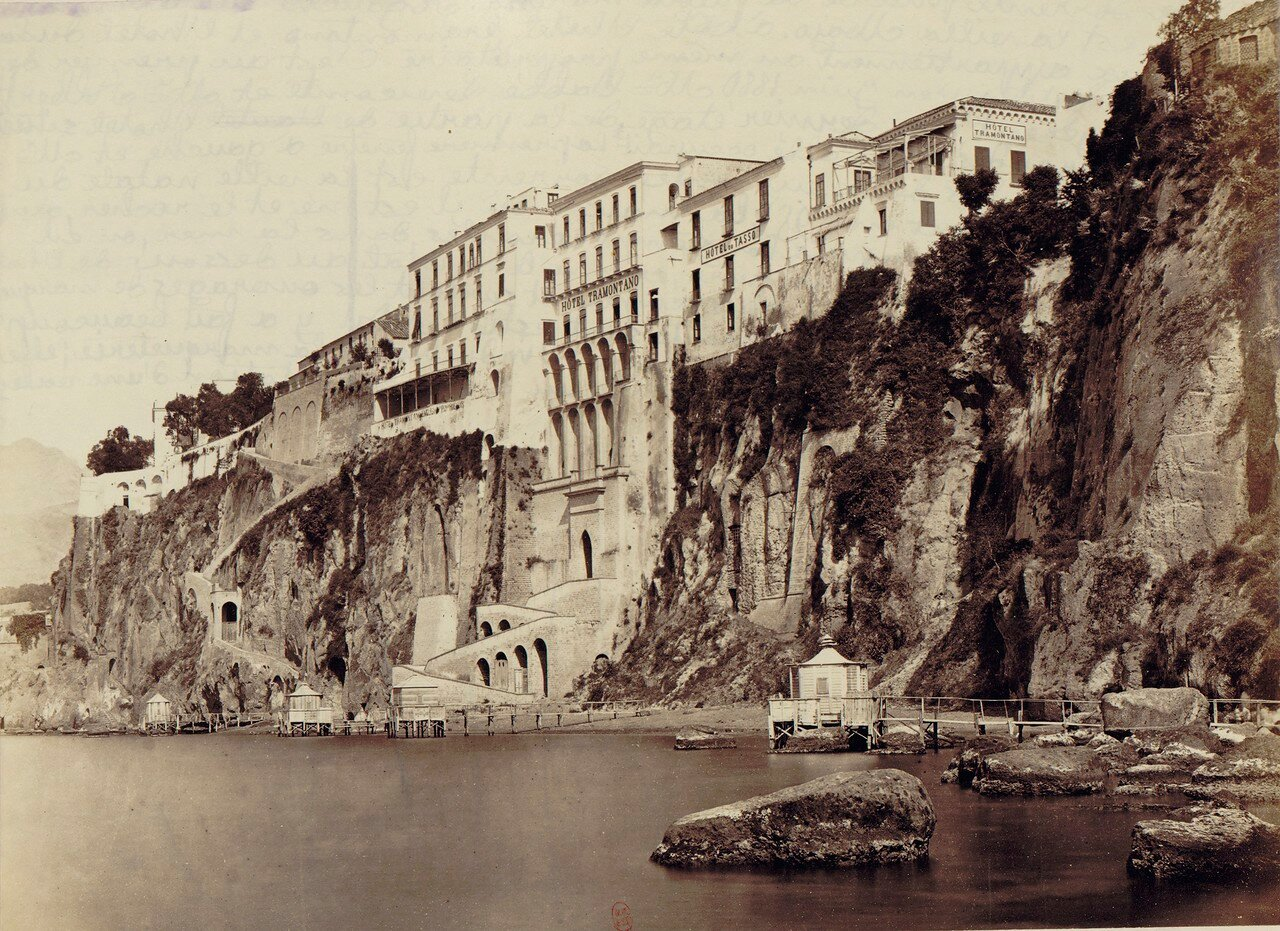 99. Окрестности Неаполя. Сорренто. Гостиницы Трамонтано и Тассо