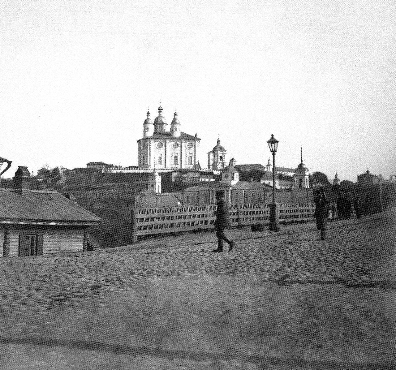 Железный мост и Соборная гора. 1905