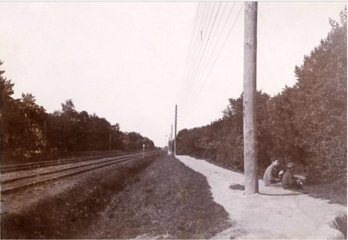 Перегон Чухлинка — Кусково. 1903