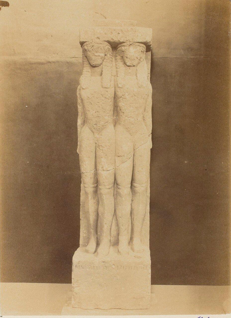 86. Погребальная стела двух братьев. VI в. до н.э.