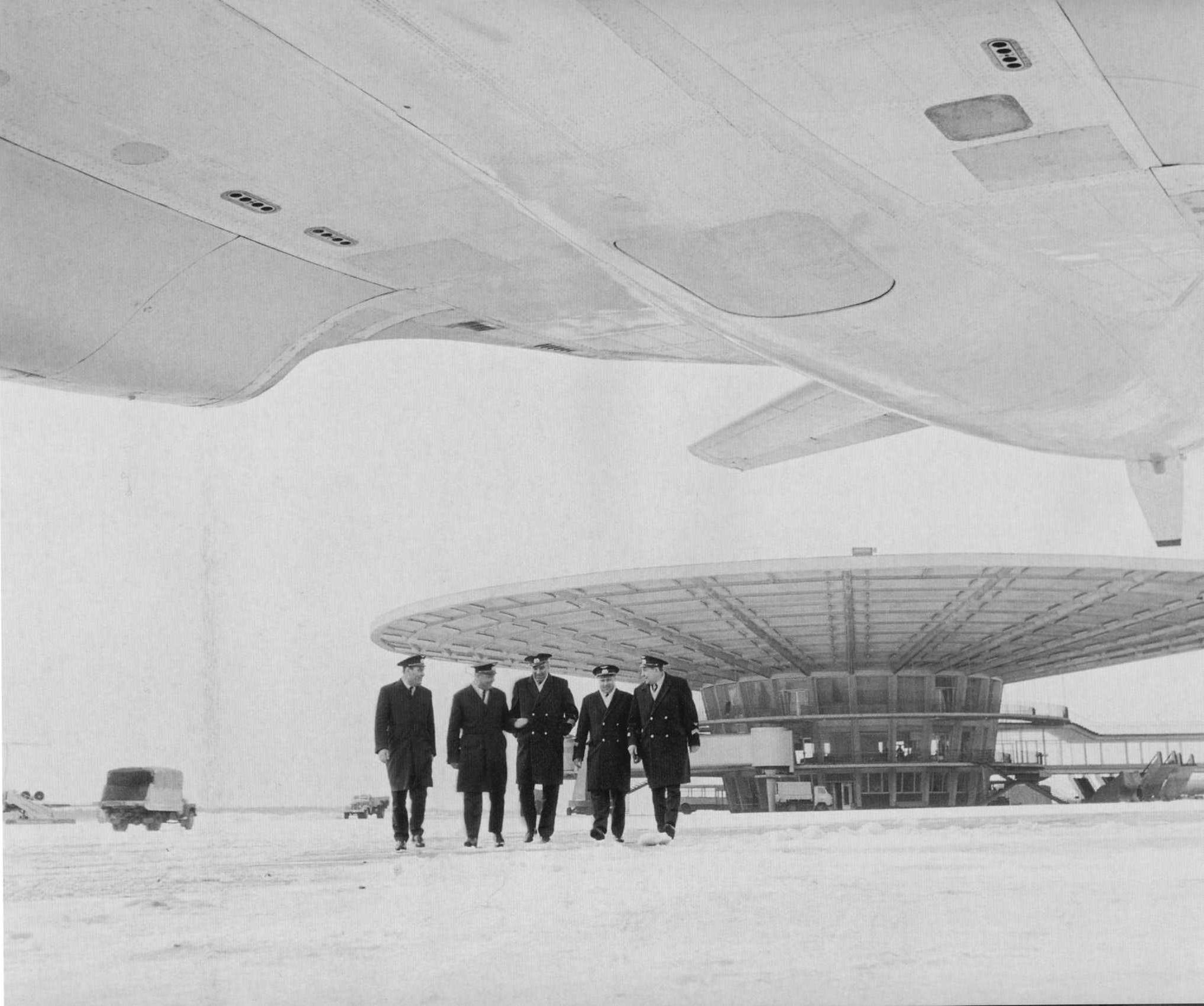 1971. Аэропорт «Шереметьево»
