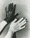 Man Ray, Hands painted by Picasso, 1935.jpg