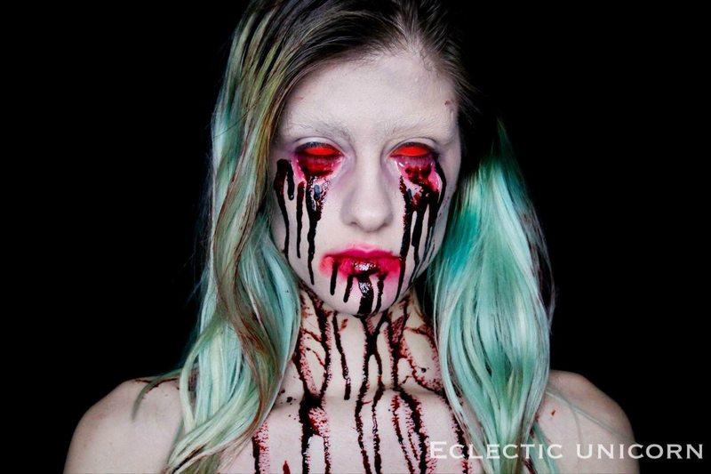 Пугающий грим на Хэллоуин